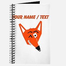 Custom Winking Fox Journal