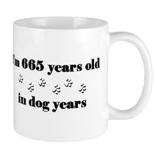 95 dog years 3-2 Mugs