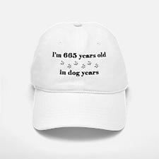 95 dog years 3-2 Baseball Baseball Baseball Cap