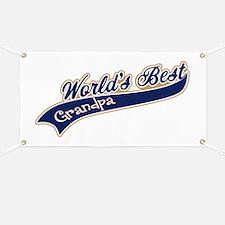 Worlds Best Grandpa Banner