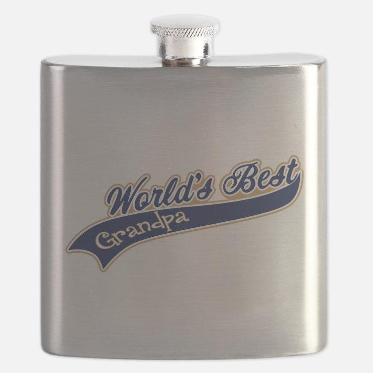 Worlds Best Grandpa Flask