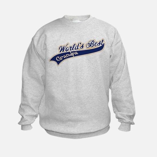 Worlds Best Grandpa Sweatshirt