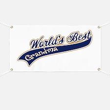 Worlds Best Grandma Banner