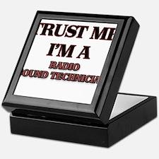 Trust Me, I'm a Radio Sound Technician Keepsake Bo