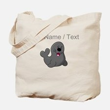 Custom Baby Seal Tote Bag