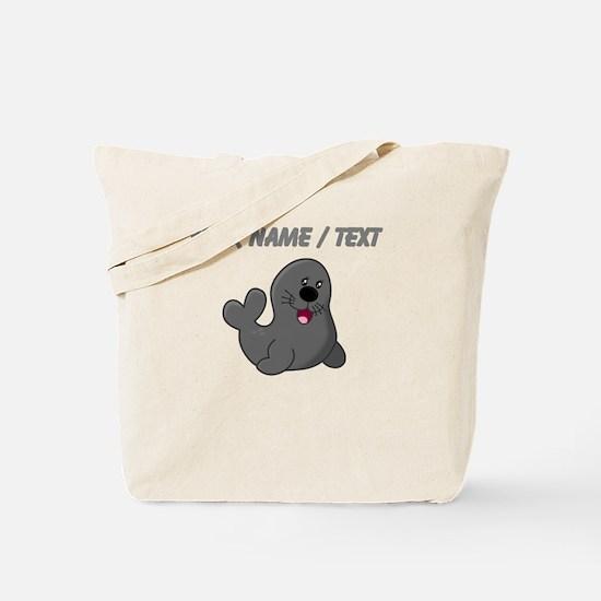Custom Baby Seal Tote Bag