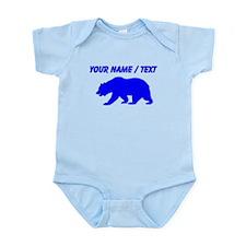 Custom Blue California Bear Body Suit