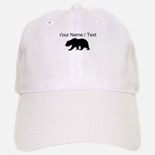 Custom Black California Bear Baseball Baseball Cap