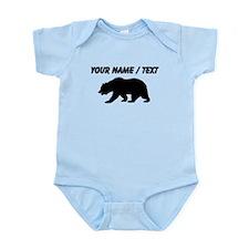 Custom Black California Bear Body Suit