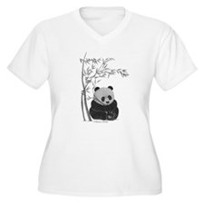 Little Panda Plus Size T-Shirt