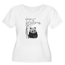 Little Panda Plus Size T-Shirt