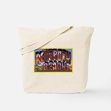 Rohoboth Beach Delaware Greetings Tote Bag
