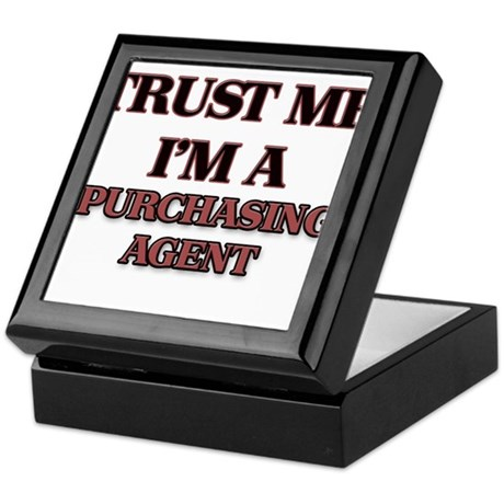 Trust Me, I'm a Purchasing Agent Keepsake Box