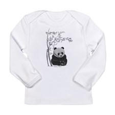 Little Panda Long Sleeve T-Shirt