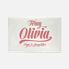 Scandal Team Olivia Rectangle Magnet