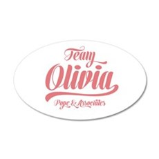 Scandal Team Olivia Wall Decal