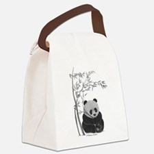 Little Panda Canvas Lunch Bag