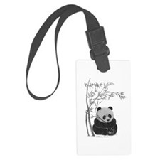 Little Panda Luggage Tag