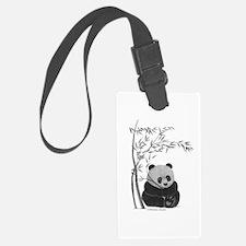 Little Panda Luggage Tag