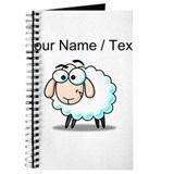 Cartoon sheep Journals & Spiral Notebooks