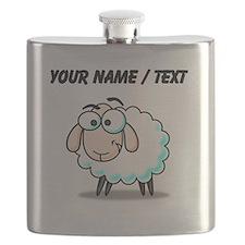 Custom Cartoon Sheep Flask
