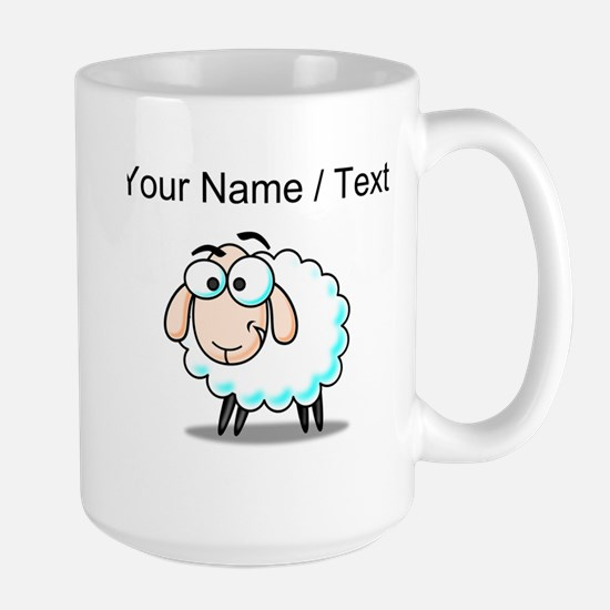 Custom Cartoon Sheep Mugs