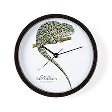 Carpet Chameleon Wall Clock
