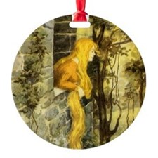 Vintage Fairy Tale Rapunzel Ornament