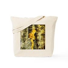 Vintage Fairy Tale Rapunzel Tote Bag