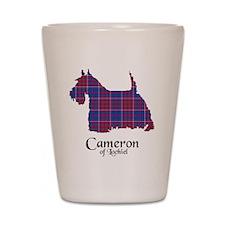 Terrier - Cameron of Locheil Shot Glass
