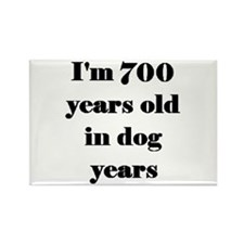 100 dog years 3-3 Magnets