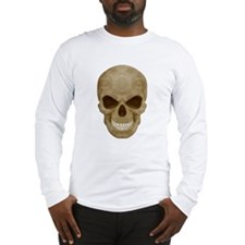 Camouflage Skull Long Sleeve T-Shirt