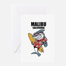 Malibu, California Greeting Cards