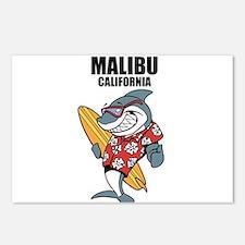 Malibu, California Postcards (Package of 8)