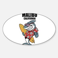 Malibu, California Decal