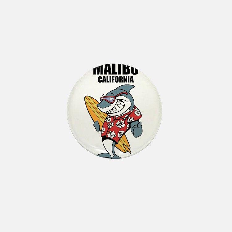 Malibu, California Mini Button