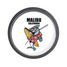 Malibu, California Wall Clock