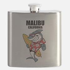 Malibu, California Flask