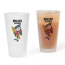 Malibu, California Drinking Glass