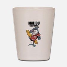 Malibu, California Shot Glass