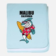 Malibu, California baby blanket