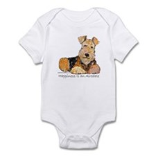 Airedale Happiness Infant Bodysuit