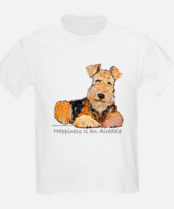 Airedale Happiness Kids T-Shirt