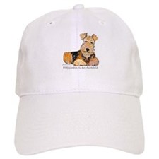 Airedale Happiness Baseball Cap