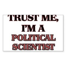 Trust Me, I'm a Political Scientist Decal