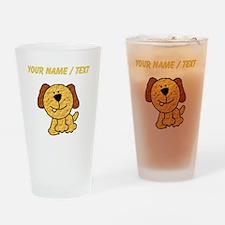Custom Three Legged Dog Drinking Glass