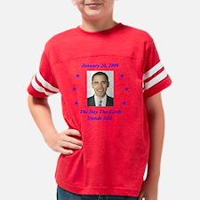 Obama Inauguration Day Youth Football Shirt