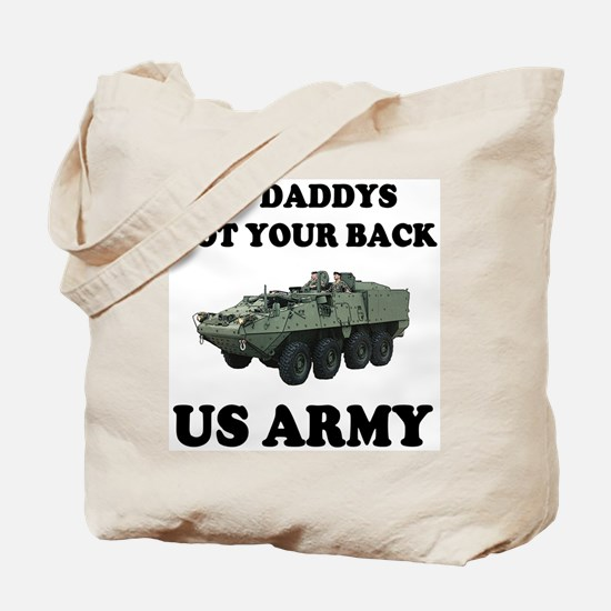 My Daddys Got Your Back US Army Tote Bag