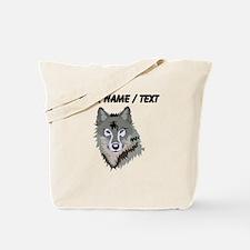 Custom Wolf Tote Bag
