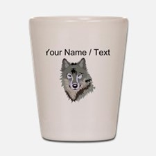 Custom Wolf Shot Glass